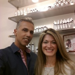 Mordechai Alvow (Founder of Yarok) & Terri Hall (Founder of Integrity Botanicals)
