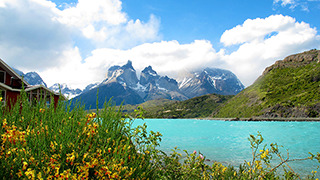 Cuernos (Horns) del Paine, Torres del Paine NAtional Park, Chile Patagonia