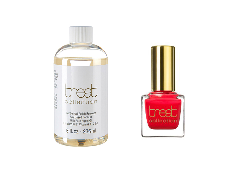treat collection nail polish remover