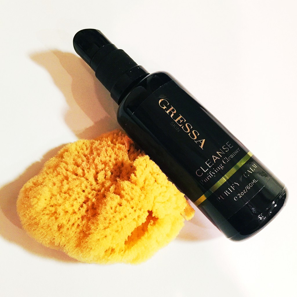 Gressa Purifying Cleanser and Natural Sea Sponge