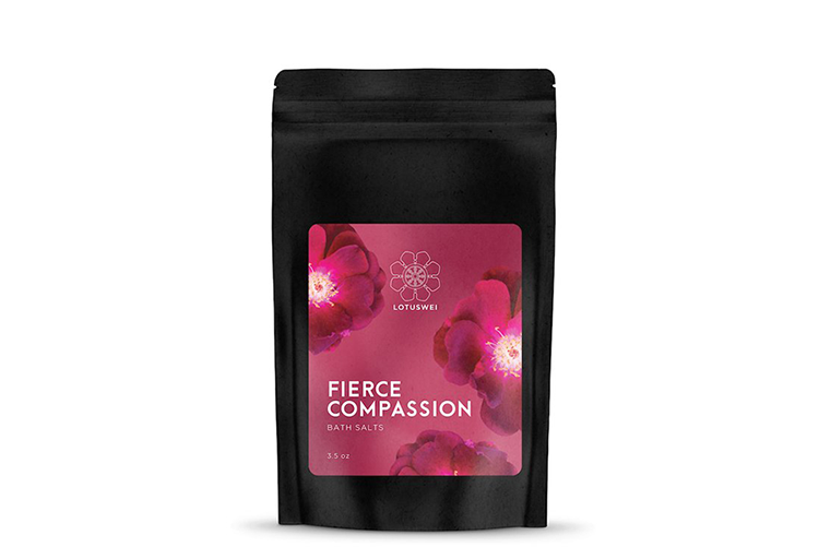 fierce compassion bath salts