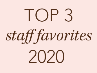 top 3 featured staff faves